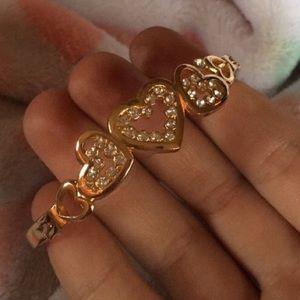 Jewelry - Golden bracelet cuff